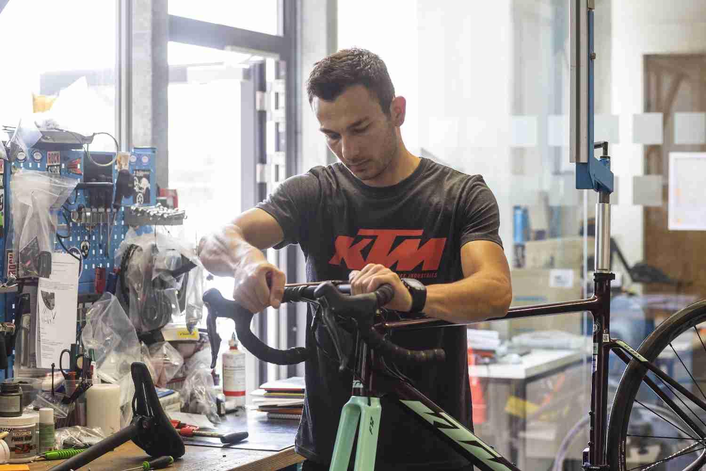 KTM Fahrrad Werkstatt